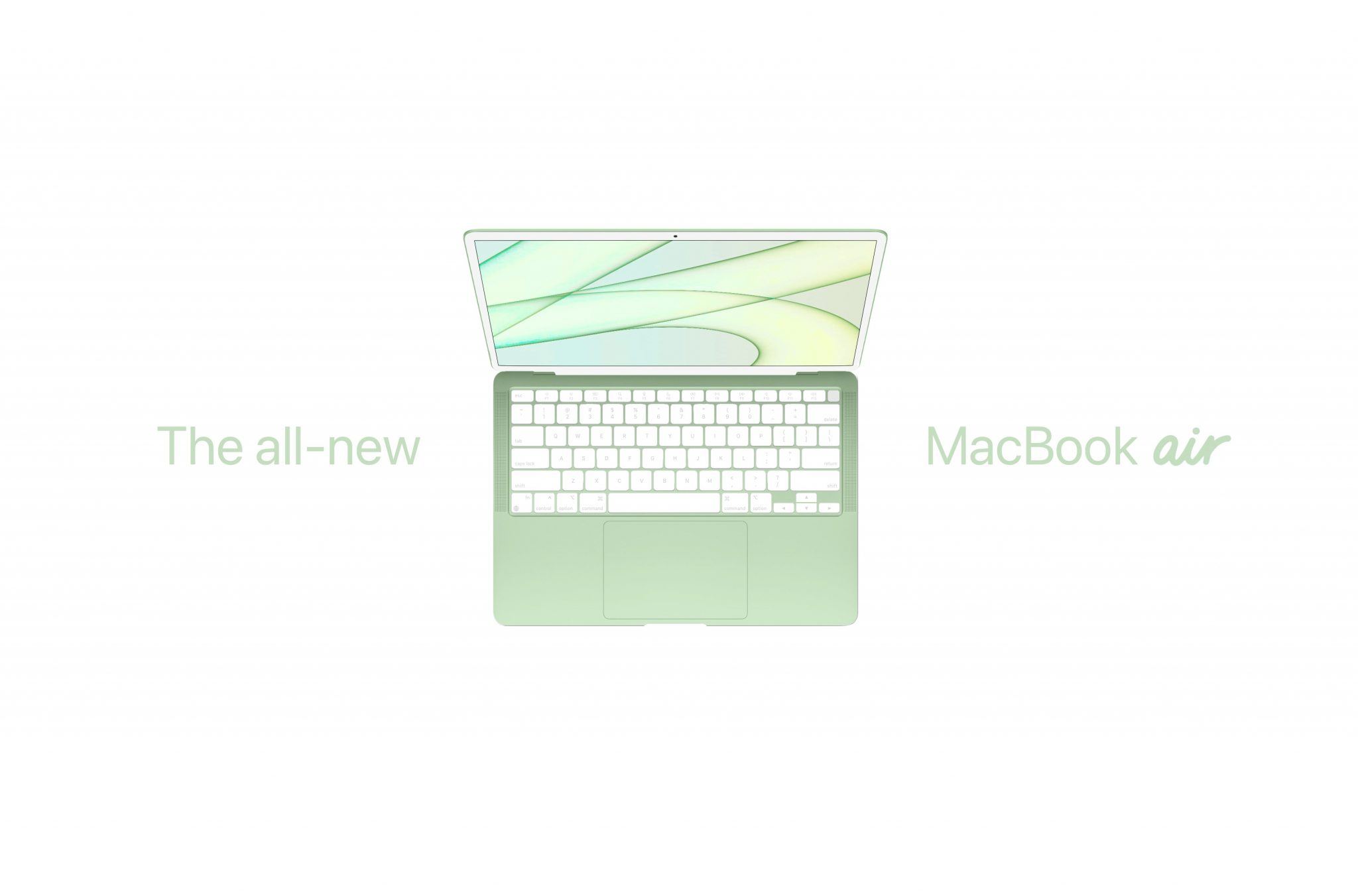 Check Out This MacBook Concept Based on 2021 M1 iMac