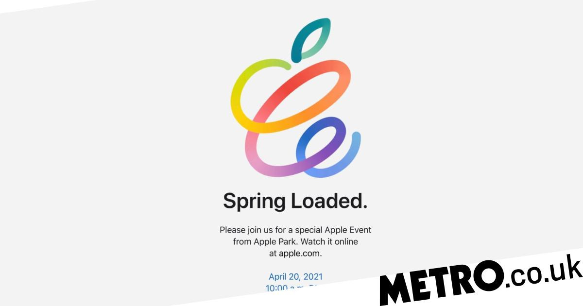 Apple Spring Loaded event 2021: What time is it and how ...