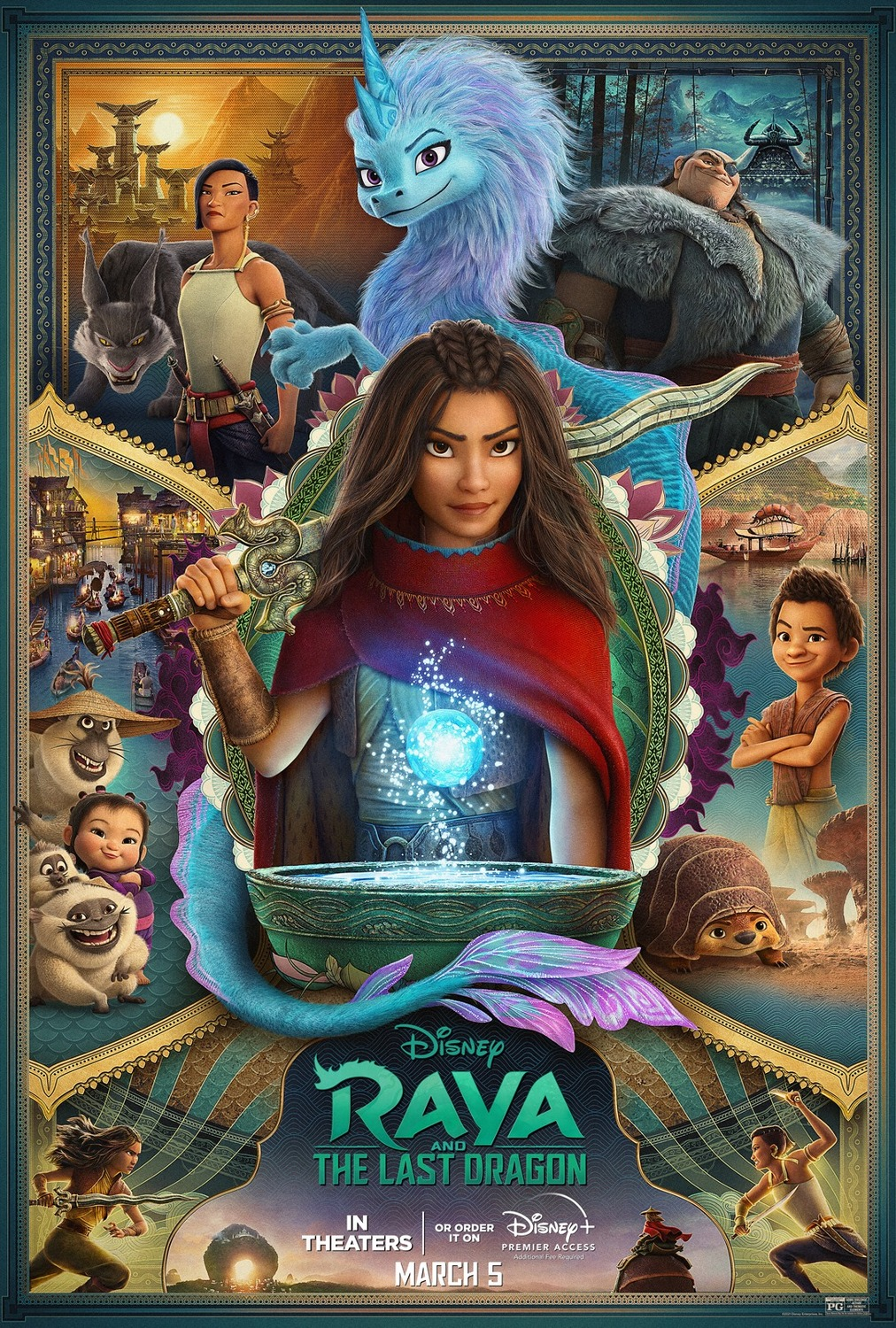New movies in theaters - Raya and the Last Dragon and more ...
