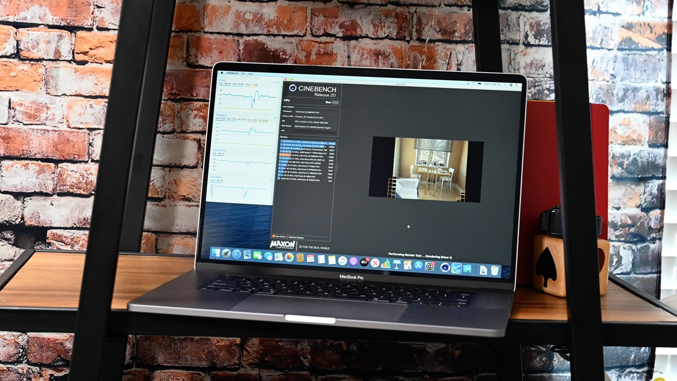 Putting the 16-inch MacBook Pro's thermal management to ...