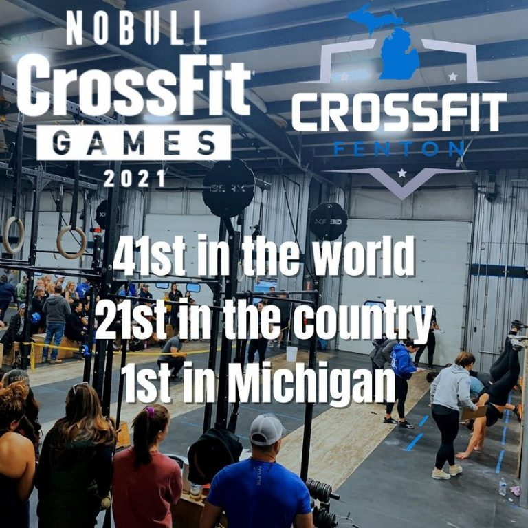 CrossFit Fenton Excels in 2021 CrossFit Games Competition ...